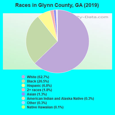 Races in Glynn County, GA (2019)
