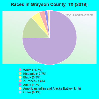 Grayson County races chart