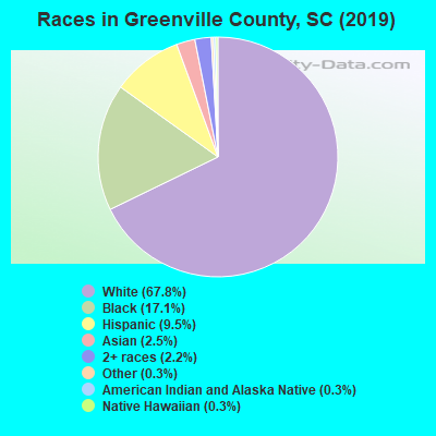 Greenville County races chart
