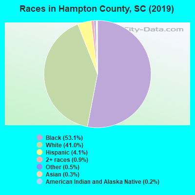 Hampton County races chart