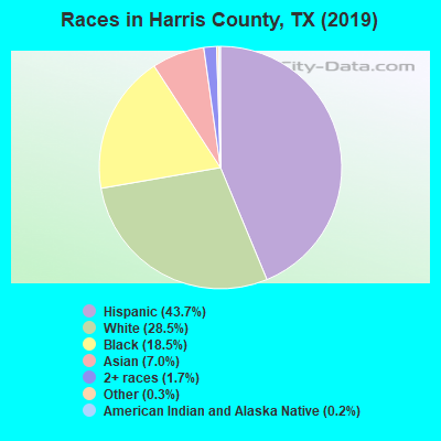 Harris County races chart