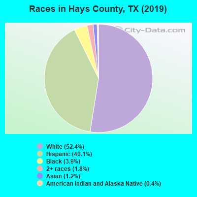 Hays County races chart
