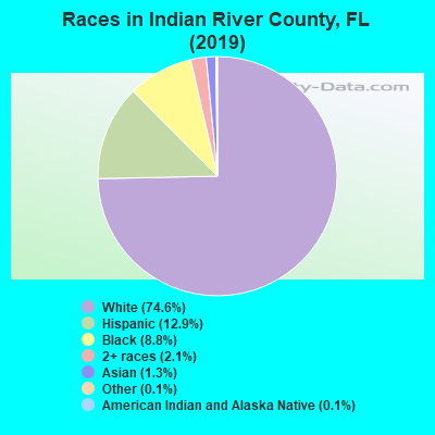 Indian River County races chart