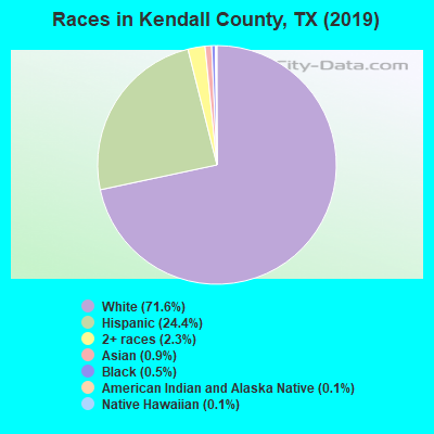 Kendall County races chart