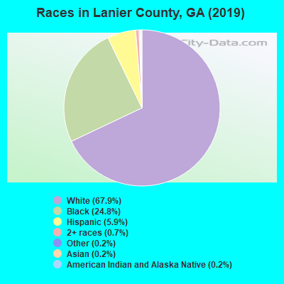 Lanier County races chart