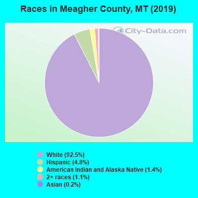 Meagher County races chart