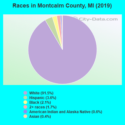 Montcalm County races chart