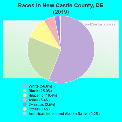 New Castle County races chart