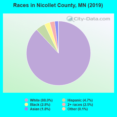 Nicollet County races chart