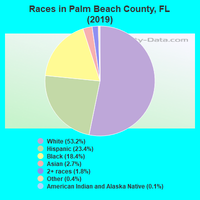 Palm Beach County races chart