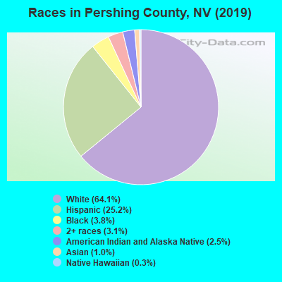 Pershing County races chart