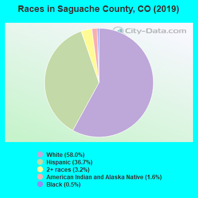 Saguache County races chart