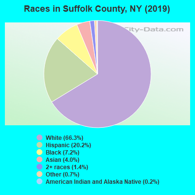 Races in Suffolk County, NY (2017)