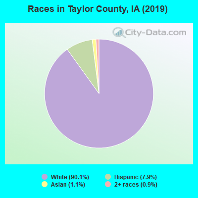 Taylor County races chart