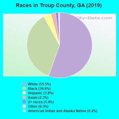 Troup County races chart