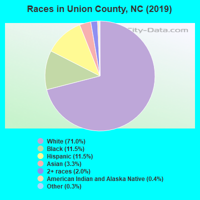 Union County races chart