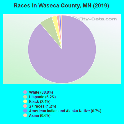 Waseca County races chart