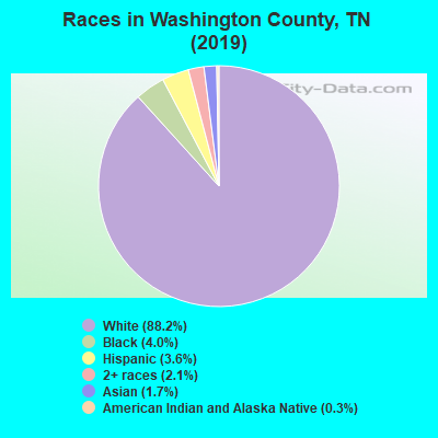 Washington County races chart