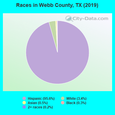 Webb County races chart
