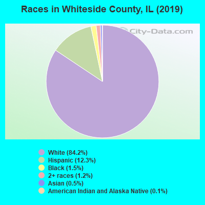 Whiteside County races chart