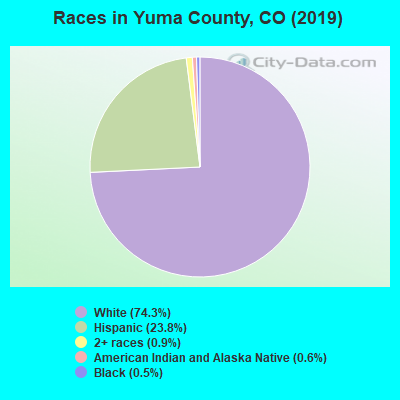 Yuma County races chart