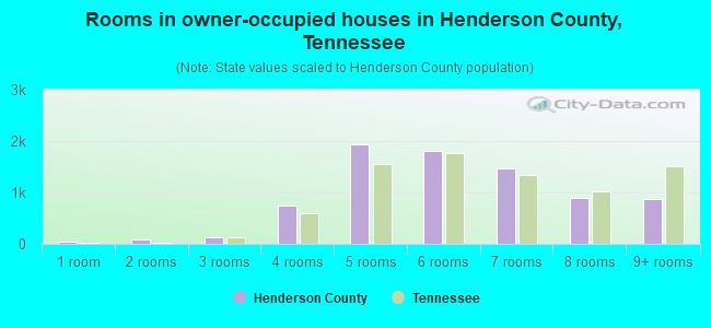 Rooms in owner-occupied houses in Henderson County, Tennessee