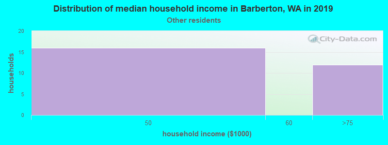 Barberton household income for Some other race householders