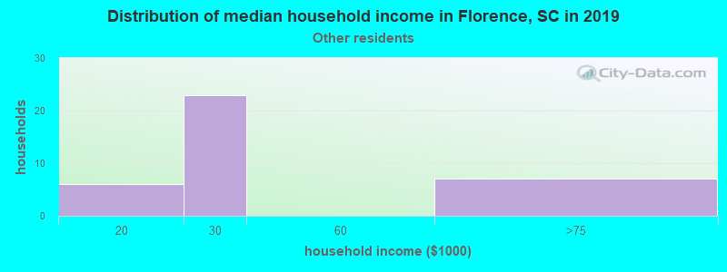 Florence household income for Some other race householders