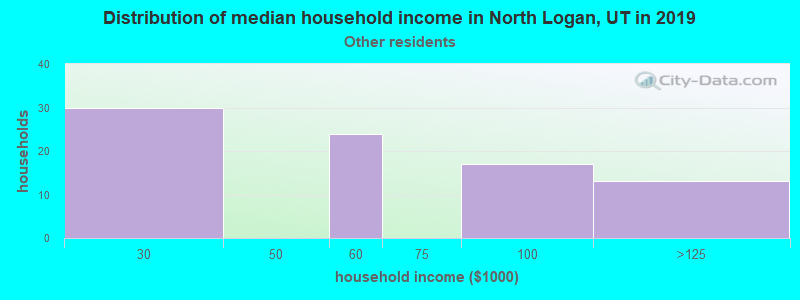 North Logan household income for Some other race householders
