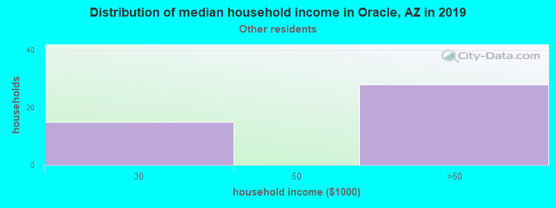Oracle household income for Some other race householders