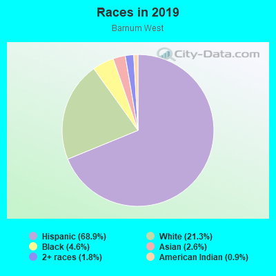 Races in Barnum West in Denver neighborhood in CO