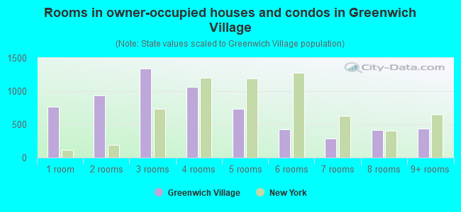 Rooms in owner-occupied houses and condos in Greenwich Village