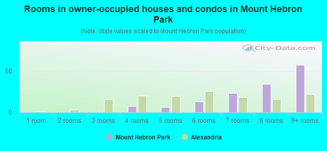 Rooms in owner-occupied houses and condos in Mount Hebron Park