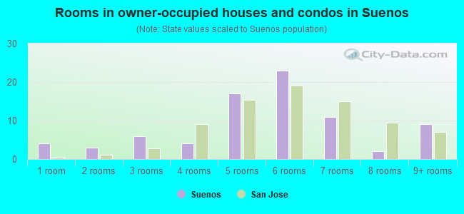 Rooms in owner-occupied houses and condos in Suenos