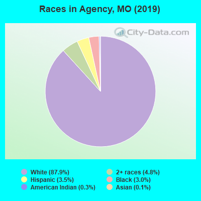 Races in Agency, MO (2010)