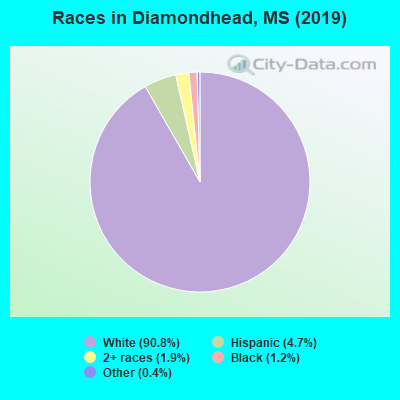 Races in Diamondhead, MS (2010)