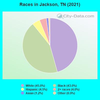 Jackson, Tennessee (TN 38301, 38305) profile: population