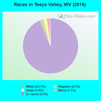 Races in Teays Valley, WV (2017)