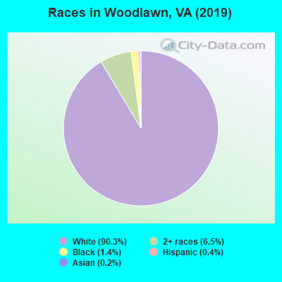 Races in Woodlawn, VA (2010)