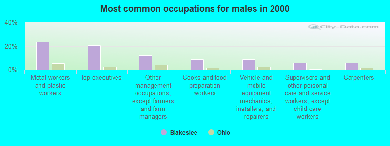 Blakeslee, Ohio (OH 43505, 43518) profile: population, maps