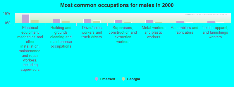 Emerson, Georgia (GA 30137) profile: population, maps, real