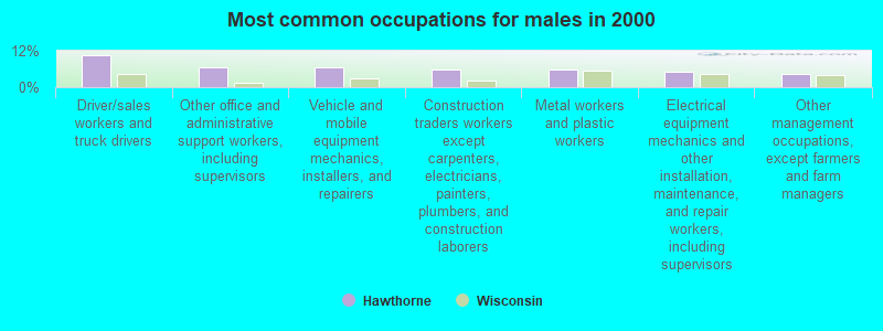 Hawthorne, Wisconsin (WI 54849) profile: population, maps