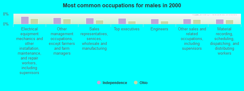 Independence, Ohio (OH 44131) profile: population, maps