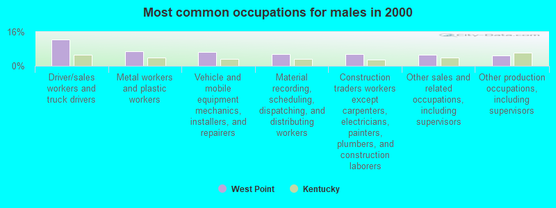West Point, Kentucky (KY 40177) profile: population, maps