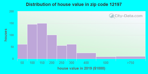 Zip code 12197 house/condo values in 2010