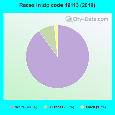 Zip code 19113 races chart