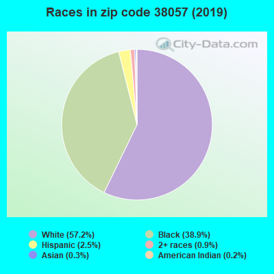 Zip code 38057 races chart