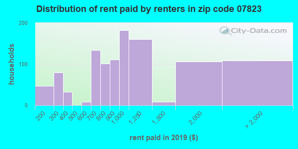 07823 rent paid by renters
