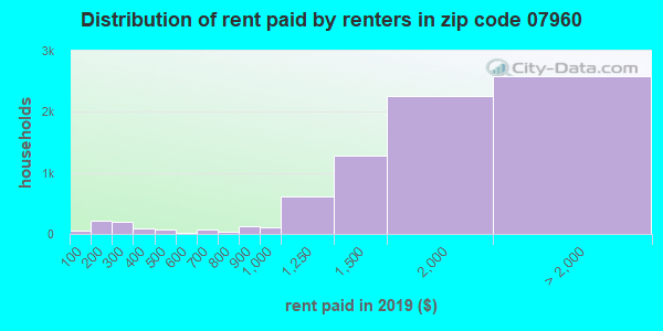 07960 rent paid by renters