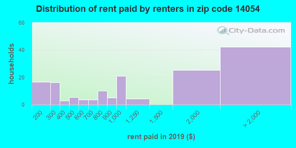14054 rent paid by renters